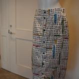 『ottod'Ame(オットダム)アルファベットプリントスカート』の画像