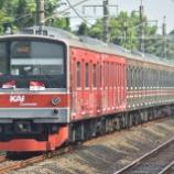 『独立か死か。205系埼京線ハエ13編成赤サイドを撮る』の画像