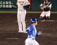 【阪神】秋山は6回5失点 6回に痛恨3ラン被弾