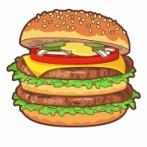 【悲報】こういうハンバーガー食ったことないやつ、ガチで人生損してるぞwwwwwww(※画像あり)