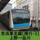 『京浜東北線 車窓[南行・3]上野→品川』の画像