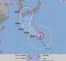 台風10号、15日に関西直撃か