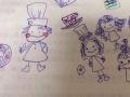 静岡朝日テレビの牧野結美アナ(24)の描いたイラストが女の子ぽくて可愛らしい(画像あり)