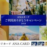 『ANAカードで35万円決済すると3,500ボーナスマイル付与!通常分と合わせて7,000マイルに。』の画像