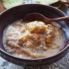 かたくなったバゲット活用☆バゲットのガーリックスープ