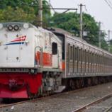 『205系武蔵野線M63,28,18,62,30編成、Yokoso! Tanjung Priok!!日中配給編(11月8日)』の画像