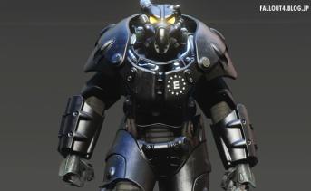 X-01パワーアーマー用エンクレイブ風ペイント