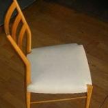 『椅子の座面の張替えのメンテナンス』の画像