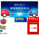 『リマインド記事:【Pokémon Three Wednesday】ダイレクトまであと10分!事業戦略発表会、ダイレクト、E3と、ポケモンに重要そうなイベントを待ちわびる記事』の画像