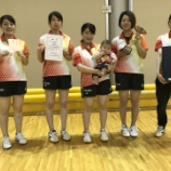 『◇仙台卓球センタークラブ◇ 第27回仙台市卓球協会会長杯卓球大会 結果』の画像