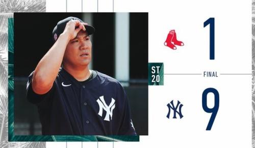 田中将大がレッドソックスとのOP戦で3回無安打5Kの完璧投球(ヤンキースファンの反応)