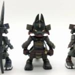 狐獣人×甲冑、「狐武者」がデフォルメ三頭身フィギュアになってガチャに登場!