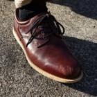 『お気に入りの革靴が・・・ | Ughhh, My Favorite Leather Shoe...』の画像