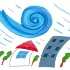 『雨の日のビルメン』の画像