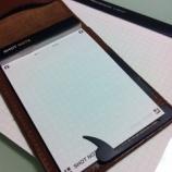 『立って書くならこれで決まり!「ロルバーン ポケット付きメモ(ミニ)」』の画像