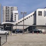 『JR岡崎駅西口のロータリーの工事が進んでいます』の画像