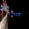 波志江沼環境ふれあい公園の2015年イルミネーション2