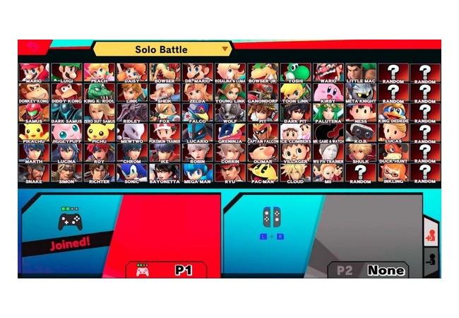 【スマブラSP】キャラクター選択画面?がリーク!あと9体のファイターが参戦か