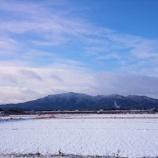 『竜王山(鏡山)雪景色』の画像