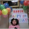 かれんの8歳の誕生日