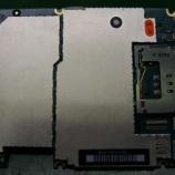 『iphone 3gのSIMスロットのピンが折れてしまった金具の交換』の画像