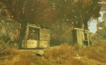 狩人の小屋(Hunter's Shack)
