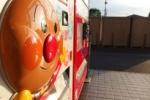 イズミヤの裏口のところに『アンパンマン自動販売機』がある!~お子たち大喜びな仕掛けもあるよ!~
