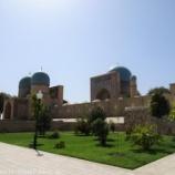 『ウズベキスタン旅行記36 【世界遺産】シャフリサブスのドルティロヴァット建築群』の画像
