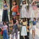 【画像】1970年代の女性の夏のファッションwwwwwwwwwww