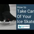 『スケート靴 日頃の手入れと、靴が出来るまでの動画』の画像