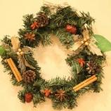 『薬膳素材で作るクリスマスリース☆』の画像