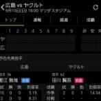 【悲報】広島とヤクルト、お互いとんでもない投手を先発させてしまう