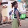 『上坂すみれさん、とんでもない格好で台湾の町中を徘徊する』の画像