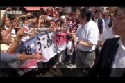 安倍首相を迎えるフィリピンがすごかった! 大歓声でもみくちゃ、歌に踊りにハイタッチ