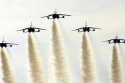 【宮城】「元気付けられた」 ブルーインパルス、松島の空に戻る 一糸乱れぬ飛行に歓声上がる