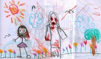 「リサは私の友達。でもパパもママも見えないっていうの…」