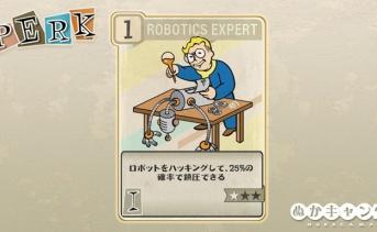 Fallout 76:Robotics Expert(Intelligence)