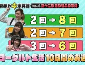 【悲報】アイドルのウンコ回数をNHKが発表wwwwwww