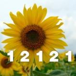 『桔梗町会ブログ・アクセス数 12121』の画像