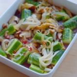 『さっぱり酢漬けの常備菜・紫キャベツマリネときゅうりの中華漬け』の画像