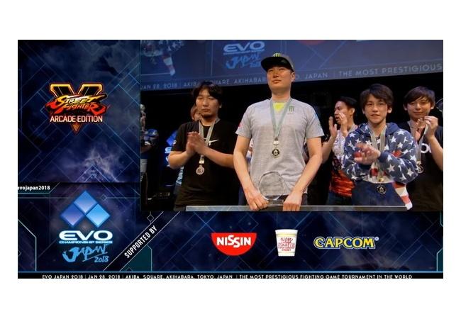 ストリートファイターV世界大会、多くの日本選手が頑張るも韓国に敗れる