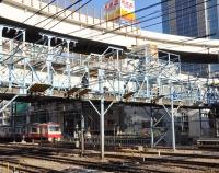 『横浜駅 東京寄り 跨線橋』の画像