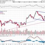 『【悲報】ベライゾン(VZ)予想を下回る決算で株価急落!』の画像