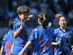なでしこジャパン、パナマ女子代表に 7-0 快勝!