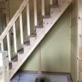 階段がつきました