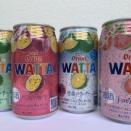 グアバ缶チューハイ(オリオンビールWATTA)すっきり爽やかな甘みで飲みやすい