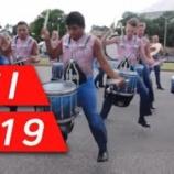『【DCI】ドラム必見! 2019年ジャージー・サーフ・ドラムライン『テネシー州メンフィス』本番前動画です!』の画像