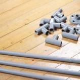 『建築資材の「塩ビパイプ」で作るインテリアが実用性もあってカッコいい! 1/3 【インテリアまとめ・】』の画像