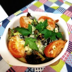 変わり野菜のオーブン焼き