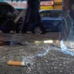 タバコのポイ捨てを注意してやったらwwwwwwwwwwwwwww